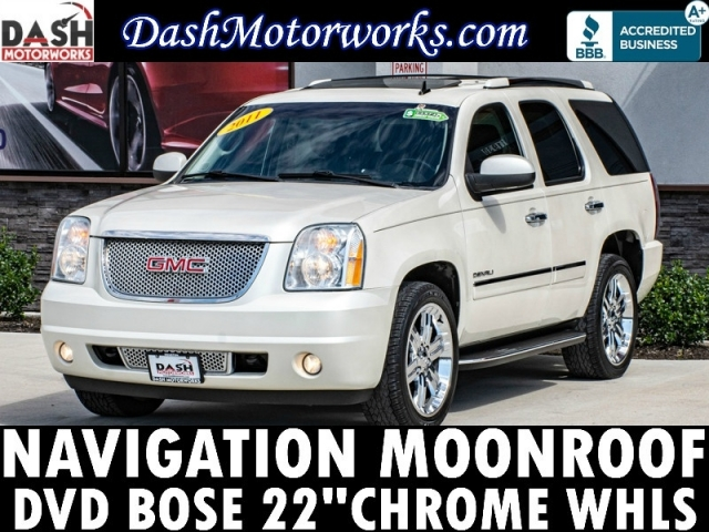 2011 GMC Yukon DENALI 6.2L V8 Navigation Sunroof DVD Camera