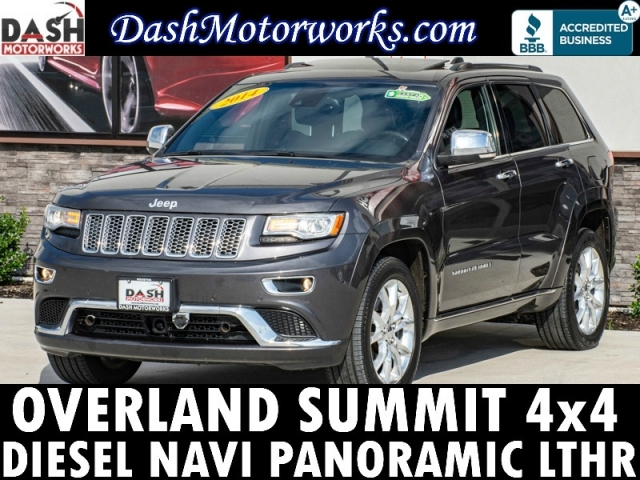 2014 Jeep Grand Cherokee 4x4 Overland Summit Diesel Navigati