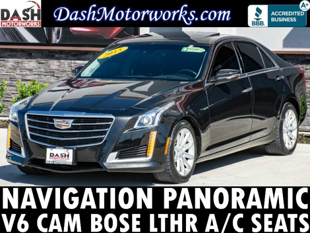 2015 Cadillac CTS Sedan V6 Navigation Panoramic Camera Bose Leat