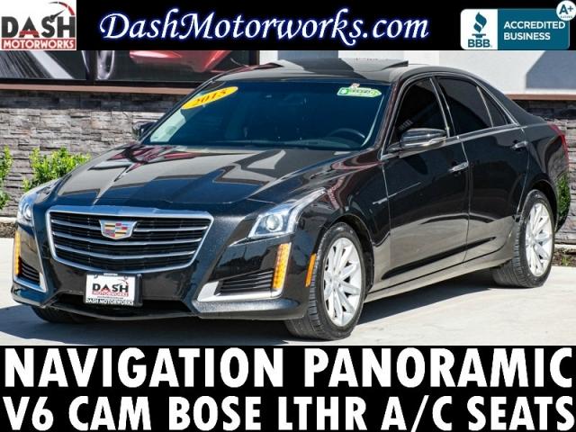 2015 Cadillac CTS Sedan V6 Navigation Panoramic Camera Bose Leat