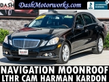 Mercedes-Benz E350 Sport Sedan Navigation Camera Sunroof Leather 2011