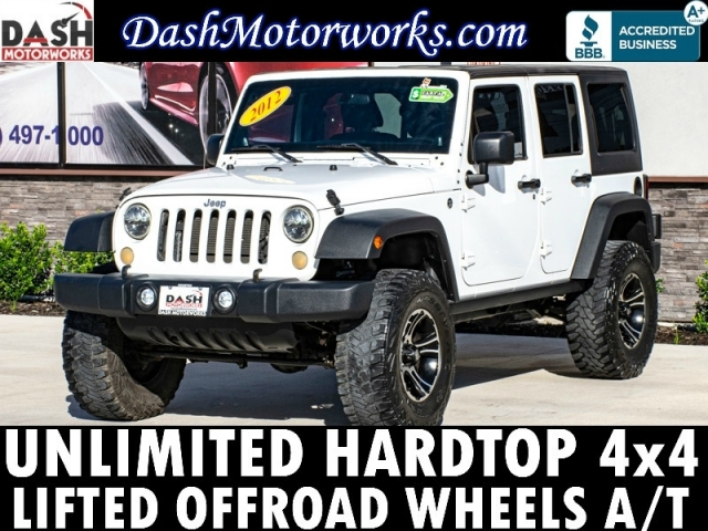 2012 Jeep Wrangler Unlimited 4x4 Lifted Wheels Upgrades Auto