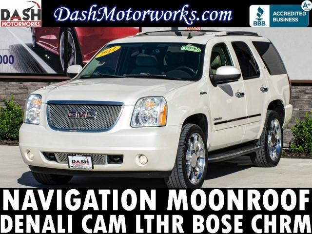 2011 GMC Yukon DENALI 6.0L V8 Hybrid Navigation Sunroof DVD
