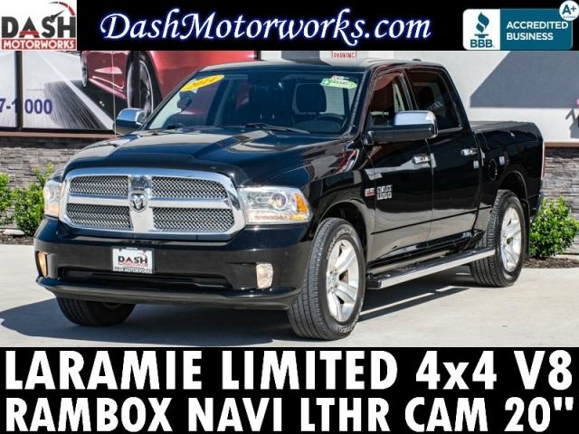 2014 RAM 1500 Laramie Limited 4x4 HEMI V8 Rambox Navigation