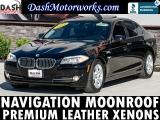 BMW 528i Premium Sedan Navigation Moonroof Leather Aut 2013