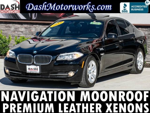 2013 BMW 528i Premium Sedan Navigation Moonroof Leather Aut