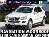 Mercedes-Benz ML350 4MATIC Navigation Camera Sunroof Leather Har 2010