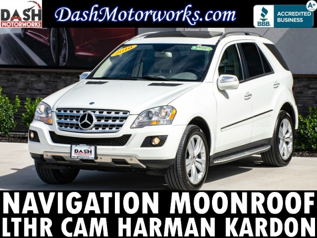 2010 Mercedes-Benz ML350 4MATIC Navigation Camera Sunroof Leather Har