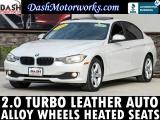 BMW 3-Series 320i Sport Sedan Leather Bluetooth Auto 2015
