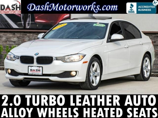 2015 BMW 3-Series 320i Sport Sedan Leather Bluetooth Auto