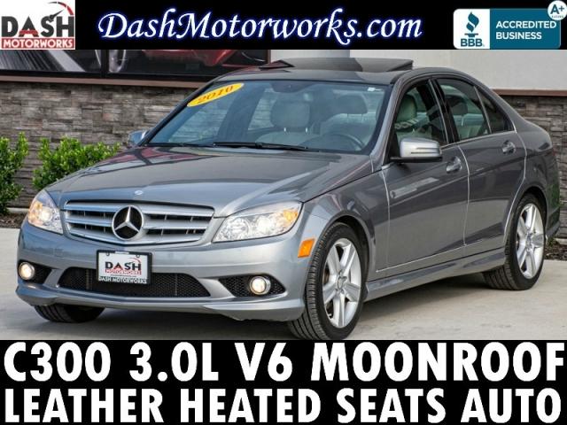 2010 Mercedes-Benz C300 Sport Sedan V6 Leather Moonroof