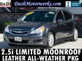 Subaru Legacy Limited Sedan Leather Sunroof Harman Kardon 2011