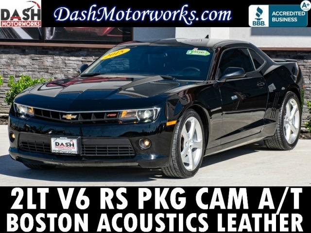 2015 Chevrolet Camaro 2LT RS Pkg Leather HUD Boston Acoustics Aut