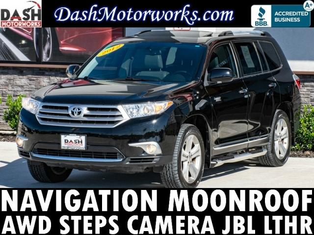 2012 Toyota Highlander V6 Limited Navigation Camera Sunroof Le