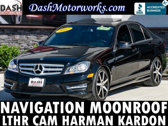 2012 Mercedes-Benz C250 Sport Sedan Navigation Camera Moonroof Leathe