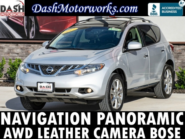 2012 Nissan Murano Platinum Edition AWD Navigation Panoramic L