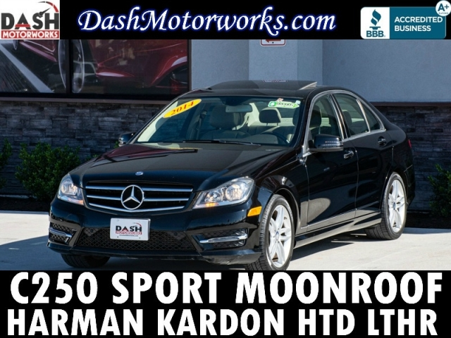 2014 Mercedes-Benz C250 Sport Sedan Sunroof Leather Premium AMG Wheel