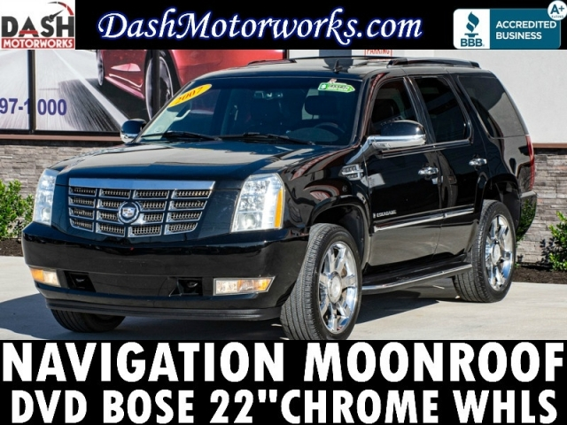 2007 Cadillac Escalade 6.2L Navigation Camera Sunroof DVD Leathe