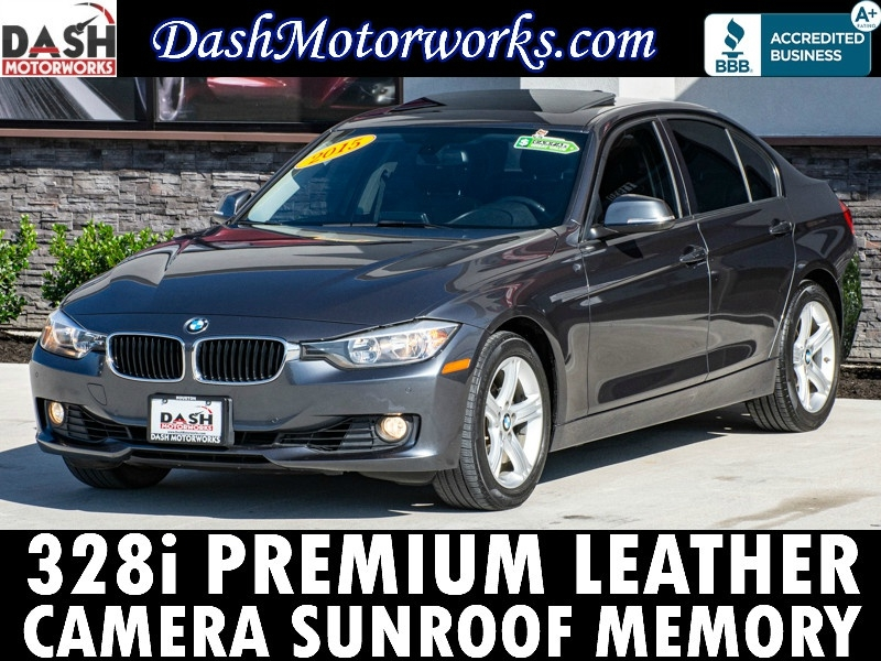 BMW 328i Sedan Luxury Sedan Camera Sunroof Leather Aut 2015 price $13,500