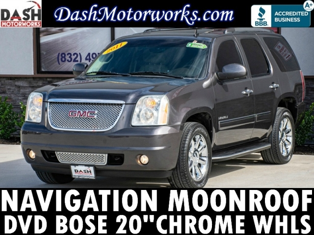 2011 GMC Yukon Denali 6.2L V8 Navigation Sunroof DVD Camera