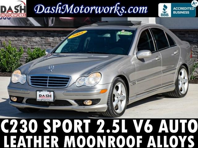 2006 Mercedes-Benz C230 Sport Sedan Leather Sunroof Auto