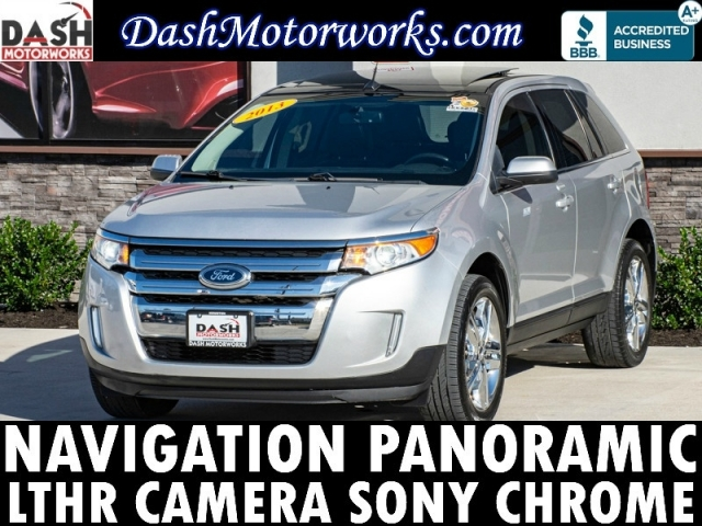 2013 Ford Edge Limited Navigation Panoramic Leather Sony