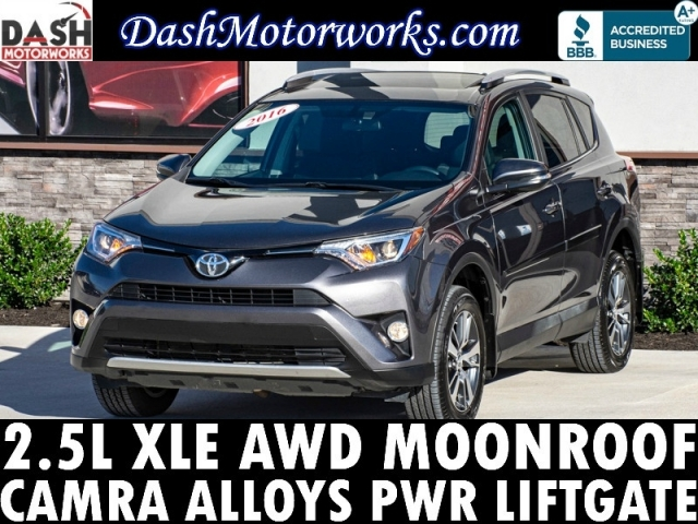 2016 Toyota RAV4 XLE AWD Camera Sunroof Power Liftgate