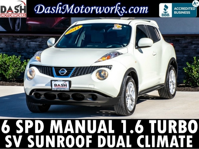 2011 Nissan JUKE SV Turbo Sunroof 6-SPD Manual