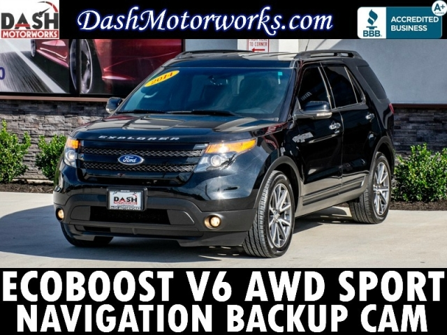 2014 Ford Explorer Sport EcoBoost AWD Navigation Camera