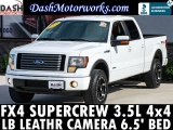 Ford F-150 FX4 SuperCrew LB 4x4 EcoBoost Leather Camera 2011