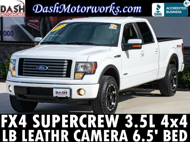 2011 Ford F-150 FX4 SuperCrew LB 4x4 EcoBoost Leather Camera