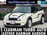 Mini Cooper Clubman S Leather Harman Kardon Auto 2011