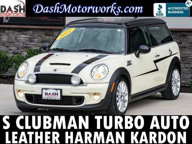 2011 Mini Cooper Clubman S Leather Harman Kardon Auto