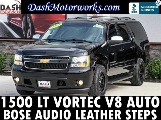 2013 Chevrolet Suburban LT V8 Leather Bose Steps