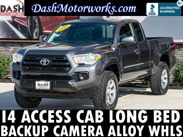 2017 Toyota Tacoma SR5 Access Cab Camera Bedliner Long Bed