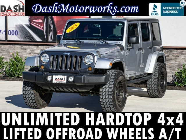2015 Jeep Wrangler Unlimited 4x4 Lifted Wheels Upgrades Auto