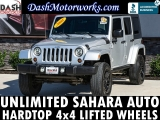 Jeep Wrangler Unlimited Sahara Hardtop Lifted 2008