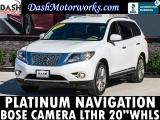 Nissan Pathfinder Platinum Navigation Camera Bose Leather 2013