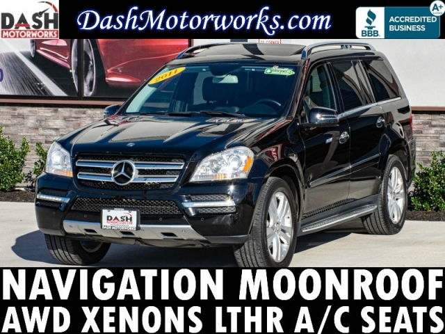 2011 Mercedes-Benz GL450 AWD Navigation Sunroof Camera DVD Leather