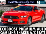 Ford Mustang EcoBoost Premium Leather Shaker Camera Aut 2016