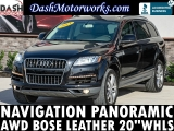 Audi Q7 3.0T Premium Plus Navigation Panoramic Bose 2013