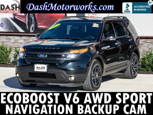 2013 Ford Explorer Sport EcoBoost AWD Navigation Camera Sony