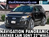 Ford Edge Sport Panoramic Navigation Sony Camera 2014