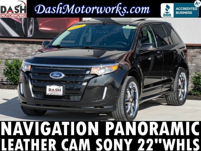 2014 Ford Edge Sport Panoramic Navigation Sony Camera