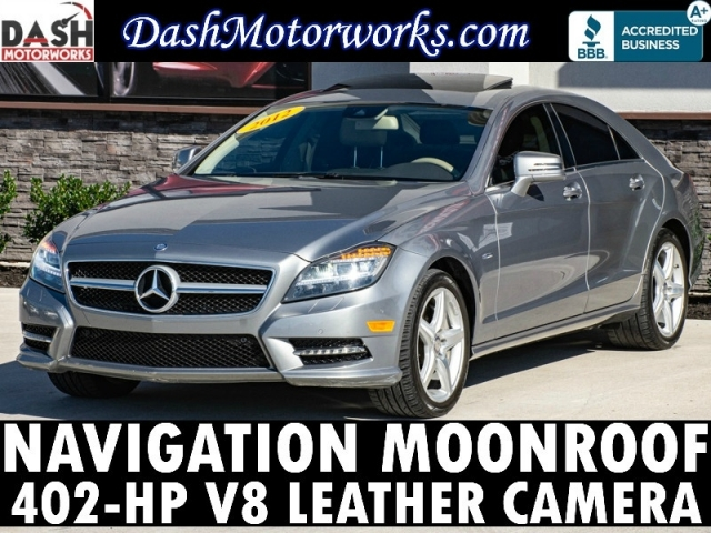 2012 Mercedes-Benz CLS 550 Sport Navigation Camera Sunroof Leather Ha