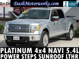Ford F-150 Platinum SuperCrew 4WD 5.4L V8 Navigation Ca 2010
