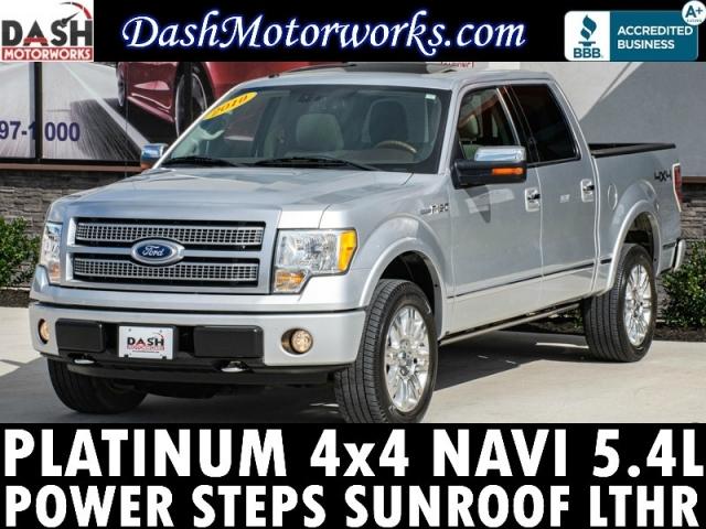 2010 Ford F-150 Platinum SuperCrew 4WD 5.4L V8 Navigation Ca
