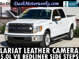 Ford F-150 Lariat SuperCrew V8 Leather Camera Steps Bed 2011