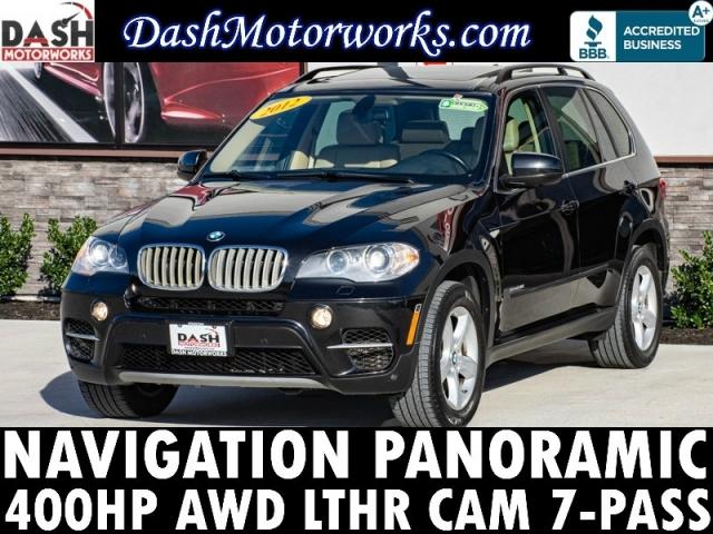 2012 BMW X5 xDrive50i AWD V8 400-HP 7-Pass Navigation Panor