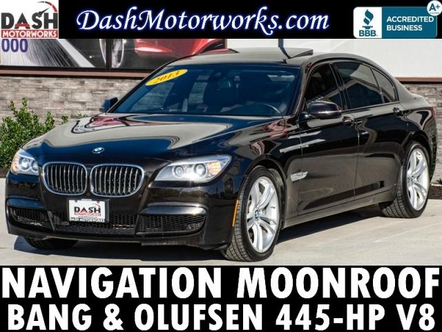 2013 BMW 750Li M-Sport Sedan Navigation Bang & Olufsen Leat